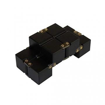 Giocattolo Fidget Infinite Cube in lega di alluminio, Gadget da dito rotante Pocket Cube per bambini e adulti Sollievo anti-stress e ansia, ottimo per Viaggi, Casa e ufficio, Multicolore - 3