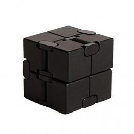 Giocattolo Fidget Infinite Cube in lega di alluminio, Gadget da dito rotante Pocket Cube per bambini e adulti Sollievo anti-stress e ansia, ottimo per Viaggi, Casa e ufficio, Multicolore - 1