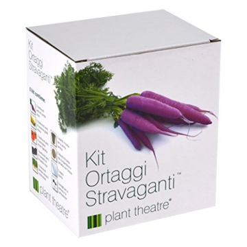 Il Kit ortaggi stravaganti di Plant Theatre - 5 straordinari ortaggi da coltivare - 2