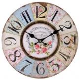 Jones Home And Gift, Cl_32723, Orologio da Parete, Pastello - 1