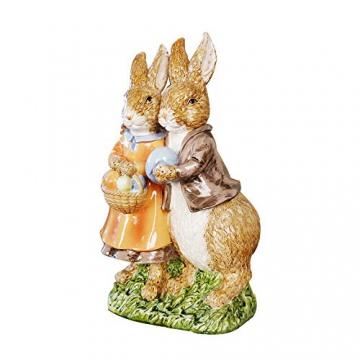 misslight Statuette del Coniglietto di Pasqua Ornamenti in Resina Decorazione di Pasqua del Coniglio (Style2) - 2
