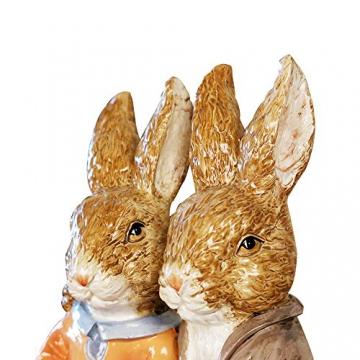 misslight Statuette del Coniglietto di Pasqua Ornamenti in Resina Decorazione di Pasqua del Coniglio (Style2) - 4