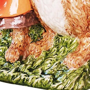 misslight Statuette del Coniglietto di Pasqua Ornamenti in Resina Decorazione di Pasqua del Coniglio (Style2) - 5