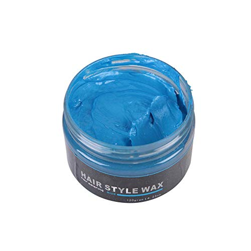Nuovi capelli di colore dei capelli monouso cera per capelli cera per capelli Nonna cenere 120g grande capacità 7 colori (blu) - 1