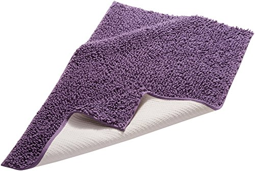 Pinzon by Amazon Badteppich, edles Schlingen-Design, baumwolle, violett, 53 x 86 cm - 1