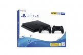 PlayStation 4 Slim 500GB F Chassis, Jet Black + 2° Dualshock 4 [Esclusiva Amazon.it] - 1