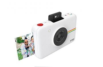 Polaroid Fotocamera Digitale a Scatto Istantaneo  con Tecnologia Di Stampa a Zero Inchiostro Zink, Bianco - 2