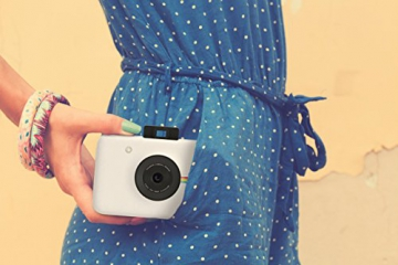 Polaroid Fotocamera Digitale a Scatto Istantaneo  con Tecnologia Di Stampa a Zero Inchiostro Zink, Bianco - 15