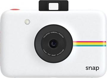 Polaroid Fotocamera Digitale a Scatto Istantaneo  con Tecnologia Di Stampa a Zero Inchiostro Zink, Bianco - 3