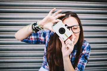 Polaroid Fotocamera Digitale a Scatto Istantaneo  con Tecnologia Di Stampa a Zero Inchiostro Zink, Bianco - 5