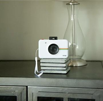 Polaroid Fotocamera Digitale a Scatto Istantaneo  con Tecnologia Di Stampa a Zero Inchiostro Zink, Bianco - 7