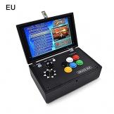 Portable Pandora Box Set Console Di Gioco 3D Arcade Console Da Gioco 10' 2200 In 1 Retro Videogiochi Joystick Arcade, Versione Inglese - 1