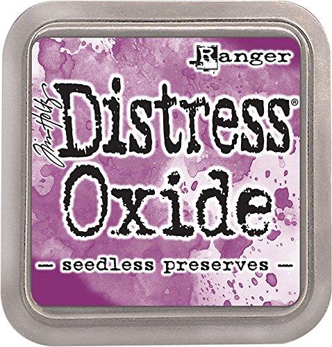 Ranger Distress Seedless conserve ossido di tampone di inchiostro, in materiale sintetico, viola, 7.5x 7.5x 1.9cm - 1