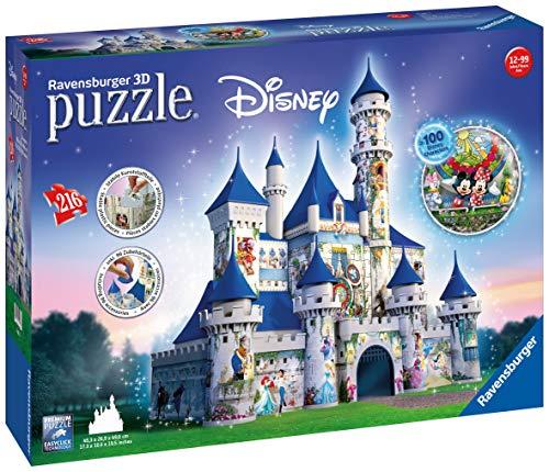 Ravensburger Italy Castello Disney Puzzle 3D, 12587 - 1