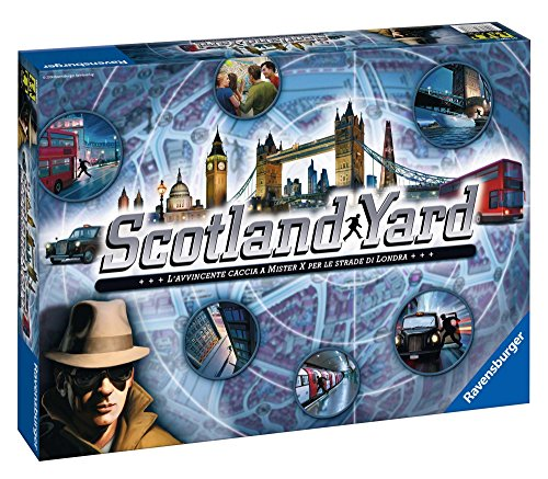 Ravensburger Italy Gioco in Scatola Scotland Yard, 26648 - 1