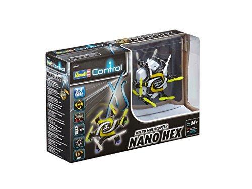 Revell Mini Quadcopter Nano Hex RC, Colore Giallo, RV23947 - 1
