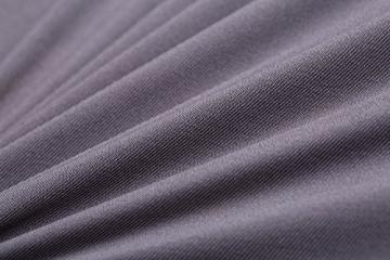 SaintderG® Coprisedie con schienale 6 pezzi moderna protettiva in elastico, lavabile Estraibile, molto facile da pulire e resistente, coprisedile, moderna sala da pranzo, hotel, arredamento ristorante (Grigio, 6 pezzi) - 3