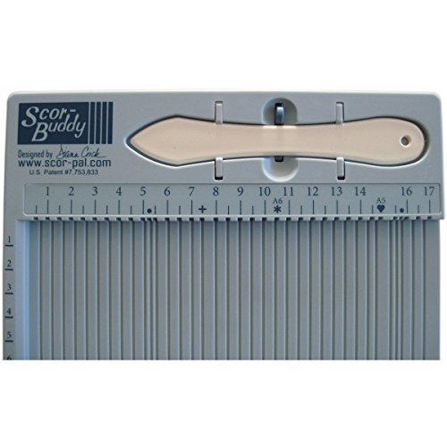 Scor-Pal Buddy Mini Scoring Board, 24cm x 19cm, metrico - 1