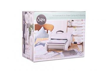 Sizzix 663069 Big Shot Plus Starter Kit, Plastica/Gomma/Acciaio, Multicolore, 47x38x24 cm - 3