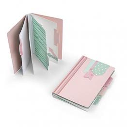 Sizzix Album Mini Fustella, Multicolore, Taglia Unica - 1
