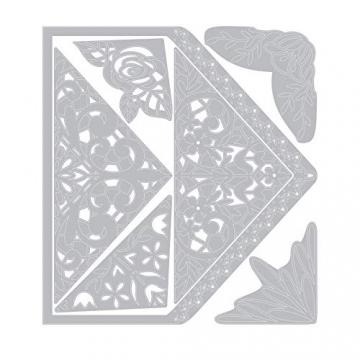 Sizzix Buste Intricate Fustella, Multicolore, Taglia Unica - 2