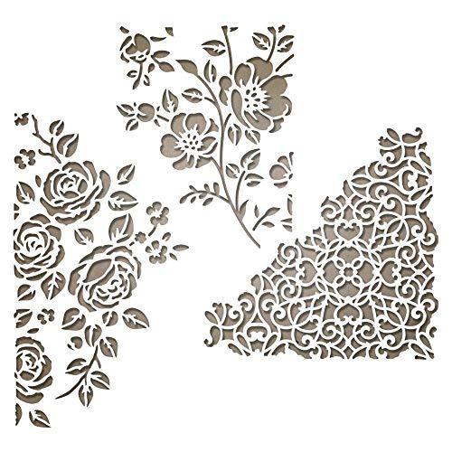 Sizzix Thinlits Fustella, Supporti Misti N. 5, Multicolore, 19,1 x 14,4 x 0,4 cm - 1