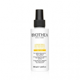 Spray Lotion Pre-Depilation 100ml Epil Care Byothea ® Miele e Olio di Argan Lozione - 1