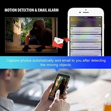 Sricam Ultima Versione SP017 Telecamera WiFi Interno di Sorveglianza 1080P Wireless IP Camera, Obiettivi Ruotabile, Audio Bidirezionale, Modalità Notturna a Infrarossi, Compatibile con iOS Android PC - 5