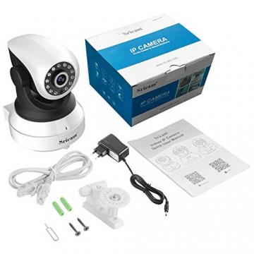 Sricam Ultima Versione SP017 Telecamera WiFi Interno di Sorveglianza 1080P Wireless IP Camera, Obiettivi Ruotabile, Audio Bidirezionale, Modalità Notturna a Infrarossi, Compatibile con iOS Android PC - 7