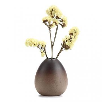 T4U Stile Antico Set di Vaso in Ceramica Decorazioni per la Casa Regalo Ideale per la Cerimonia Nuziale Vaso da Piante Idroponiche Vasi di Fiori Pacchetto di 3 - 3