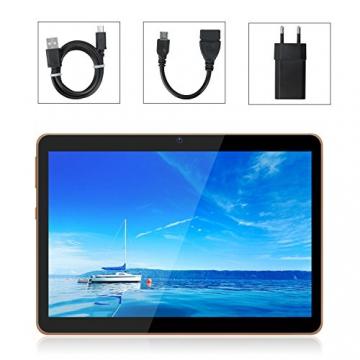 Tablet 10.1 Pollici 3G/WiFi YOTOPT - Android 7.0, Quad-core, RAM 2 GB, Memoria interna 16 GB, Bluetooth/ GPS/OTG -Nero - 7