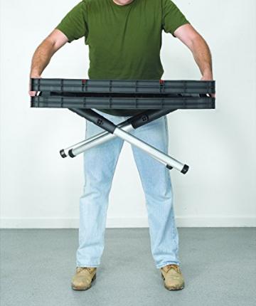 Tavola di lavoro multifunzione richiudibile portatile KETER con 2 morsetti colore: nero - 6