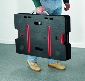 Tavola di lavoro multifunzione richiudibile portatile KETER con 2 morsetti colore: nero - 7