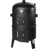 TecTake BBQ BARBECUE SMOKER A CARBONELLA - modelli differenti - (3in1 BBQ SMOKER (400820)) - 1
