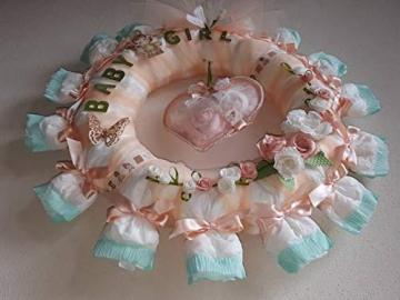 Torta di pannolini a forma di Ghirlanda - 5