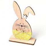 ugokarj Pasqua Ornamento Coniglietti in Legno Stile Nordico Coniglietto Pasqua Decorazioni per la casa per i Bambini Regalo - 1