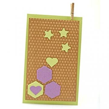 Vaessen Creative Mini Fustellatrice e Macchina per Goffratura Starter Kit, Bianco/Rosa, 12.5 x 21 x 9.5 cm - 3