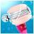 Venus Gillette Comfortglide - Rasoio donna, 3 lame, 3 ricariche - 4