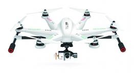 Walkera 25161 - Esacottero Tali H500 FPV 3D Gimbal Devo12E con fotocamera HD, colore: bianco - 1