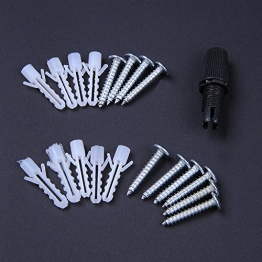 110-220V Vintage Edison Soffitto Apparecchio a Sospensione Industrial Light Lampada Regolabile Lampadario Nero-3 testa - 1