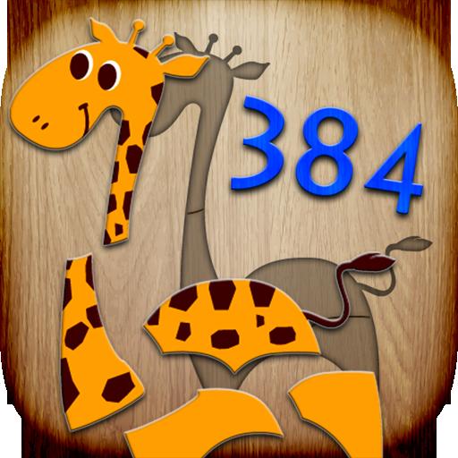 384 puzzles per bambini - gioco educativo per insegnare ai bambini le loro prime parole e la pronuncia - 1