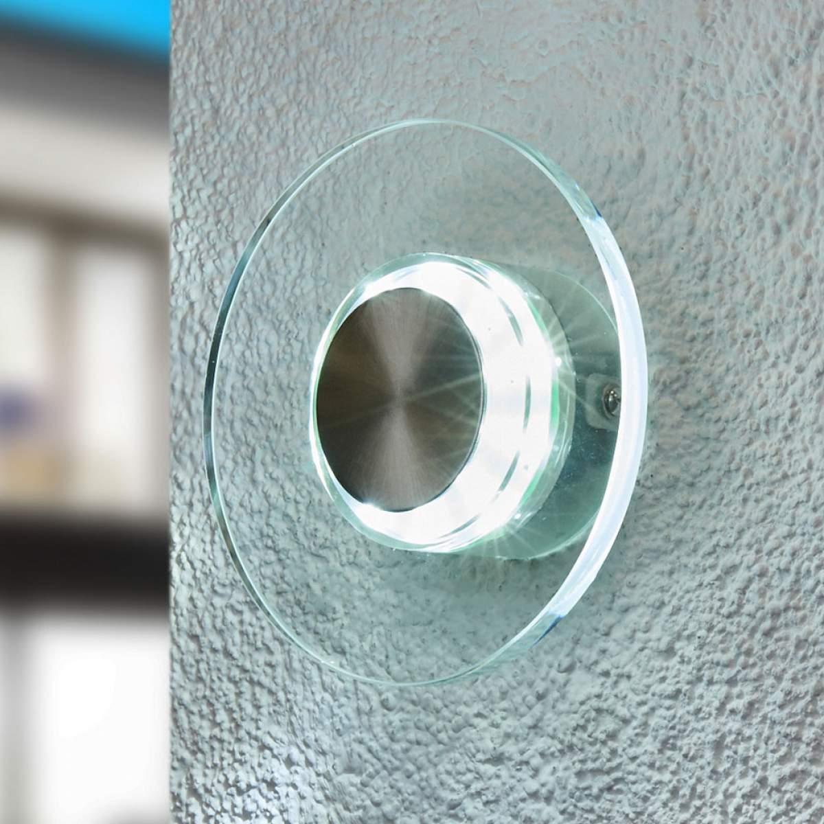Dove acquistare Efficace applique LED da esterni DANA rotonda