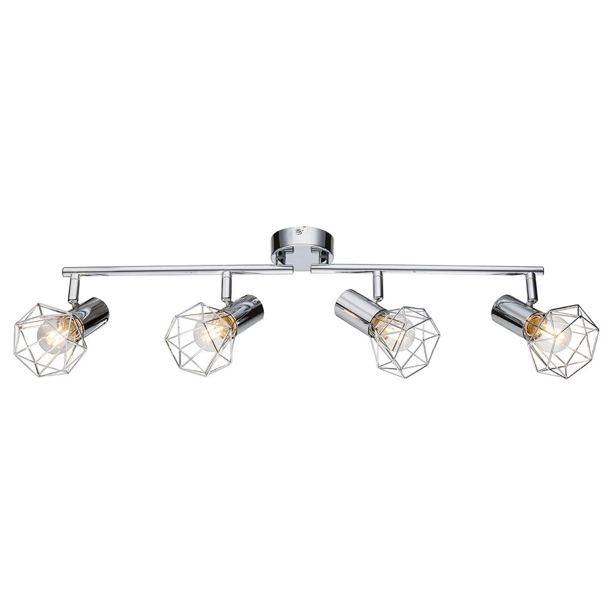 Spot regolabili – plafoniera Daiva 4 punti luce Illuminazione per interni