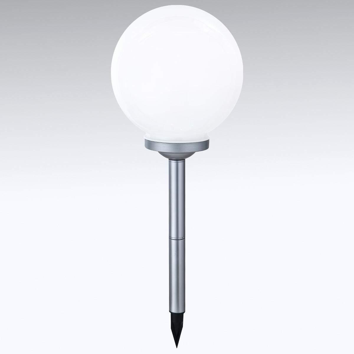 Lampada LED solare Ball multicolore con picchetto Illuminazione per interni