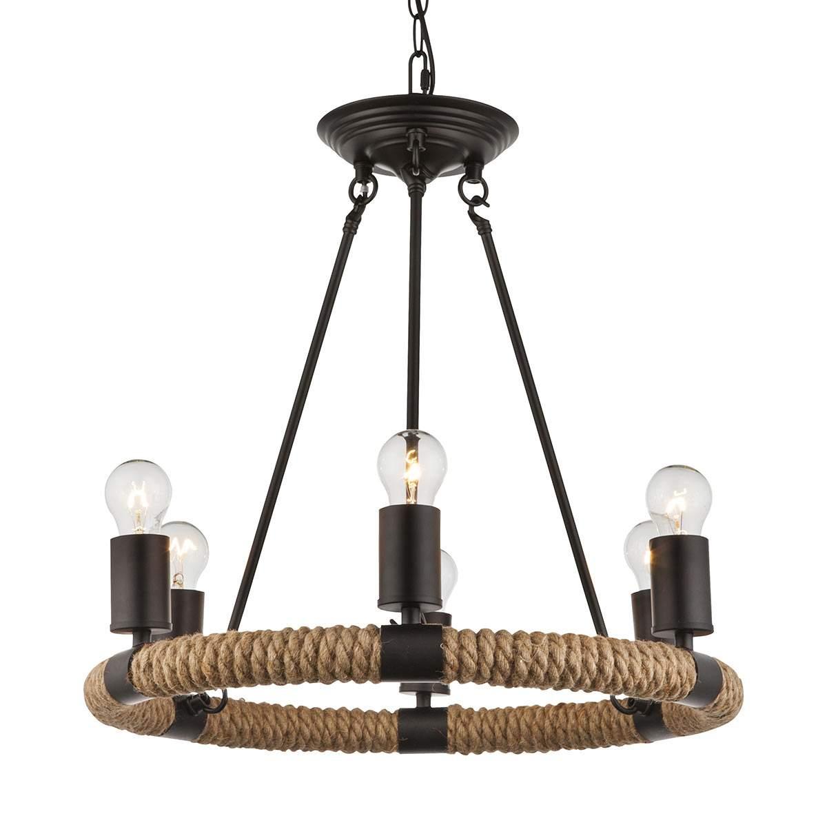 Lampada LED a sospensione Ulleu a 6 luci Illuminazione per interni