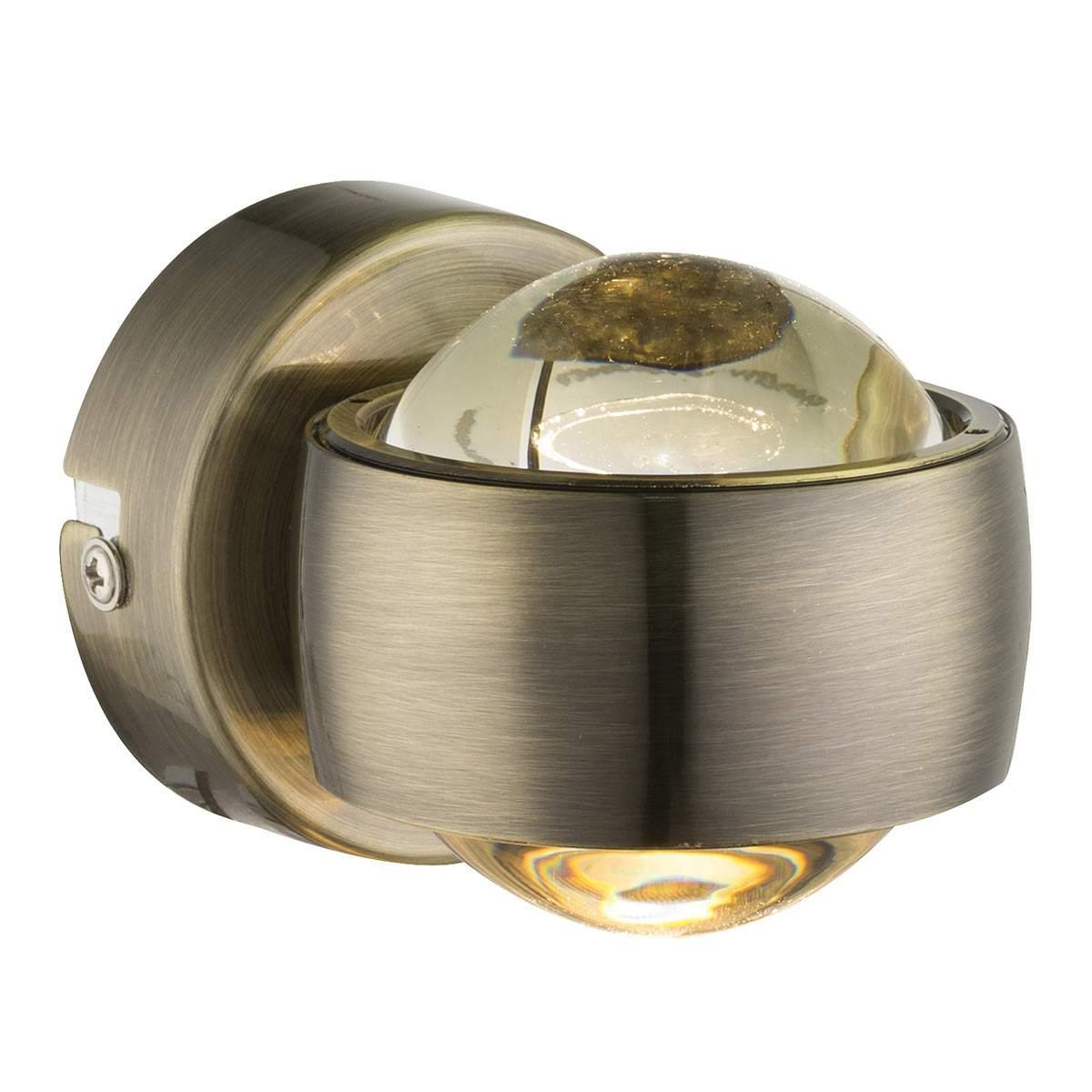 Randi – applique a LED color bronzo Illuminazione per interni
