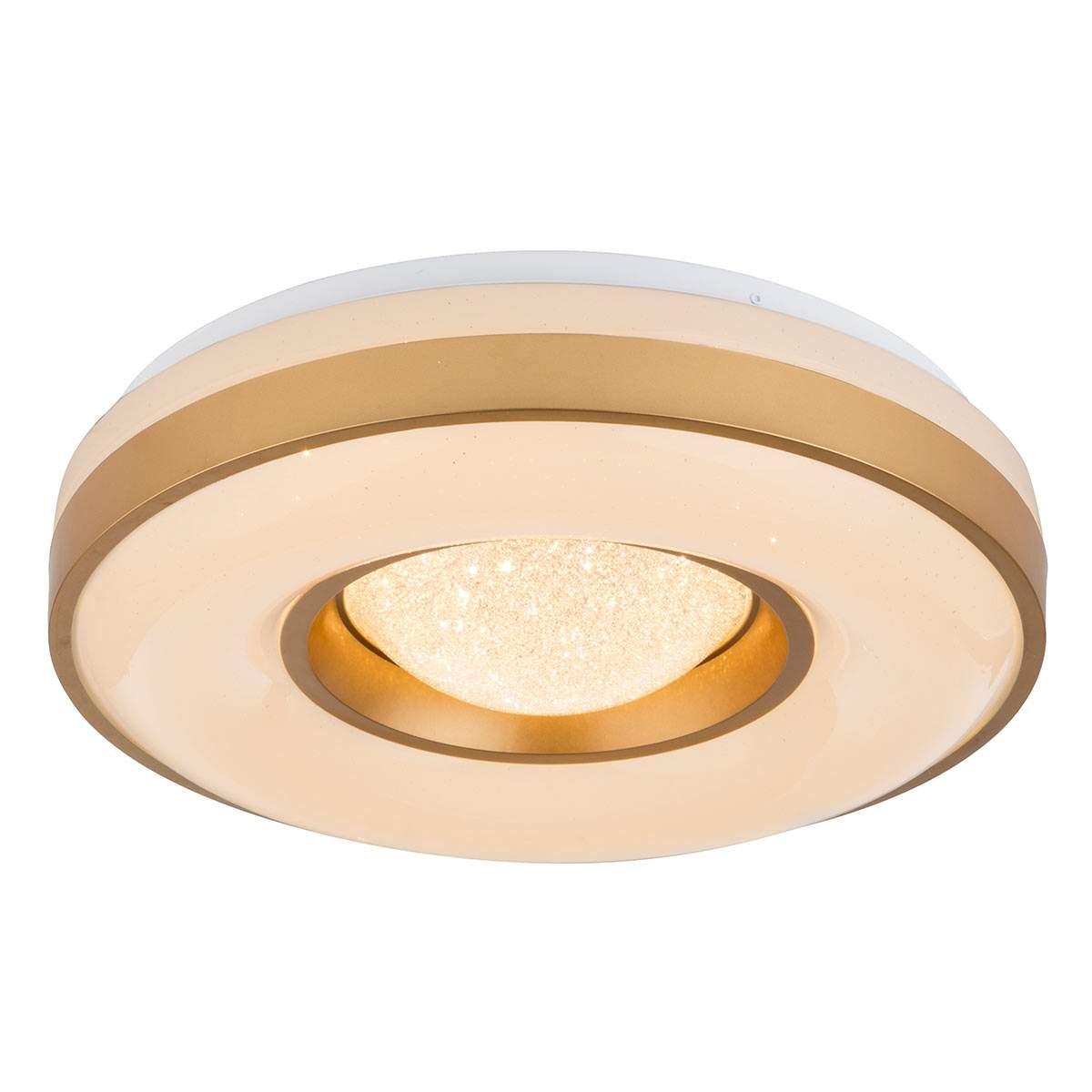 Plafoniera LED Colla con telaio color oro Illuminazione per interni