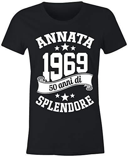 6TN Le Donne realizzate nel 1969 50 Anni di Stupenda Maglietta del 50esimo Compleanno - 1
