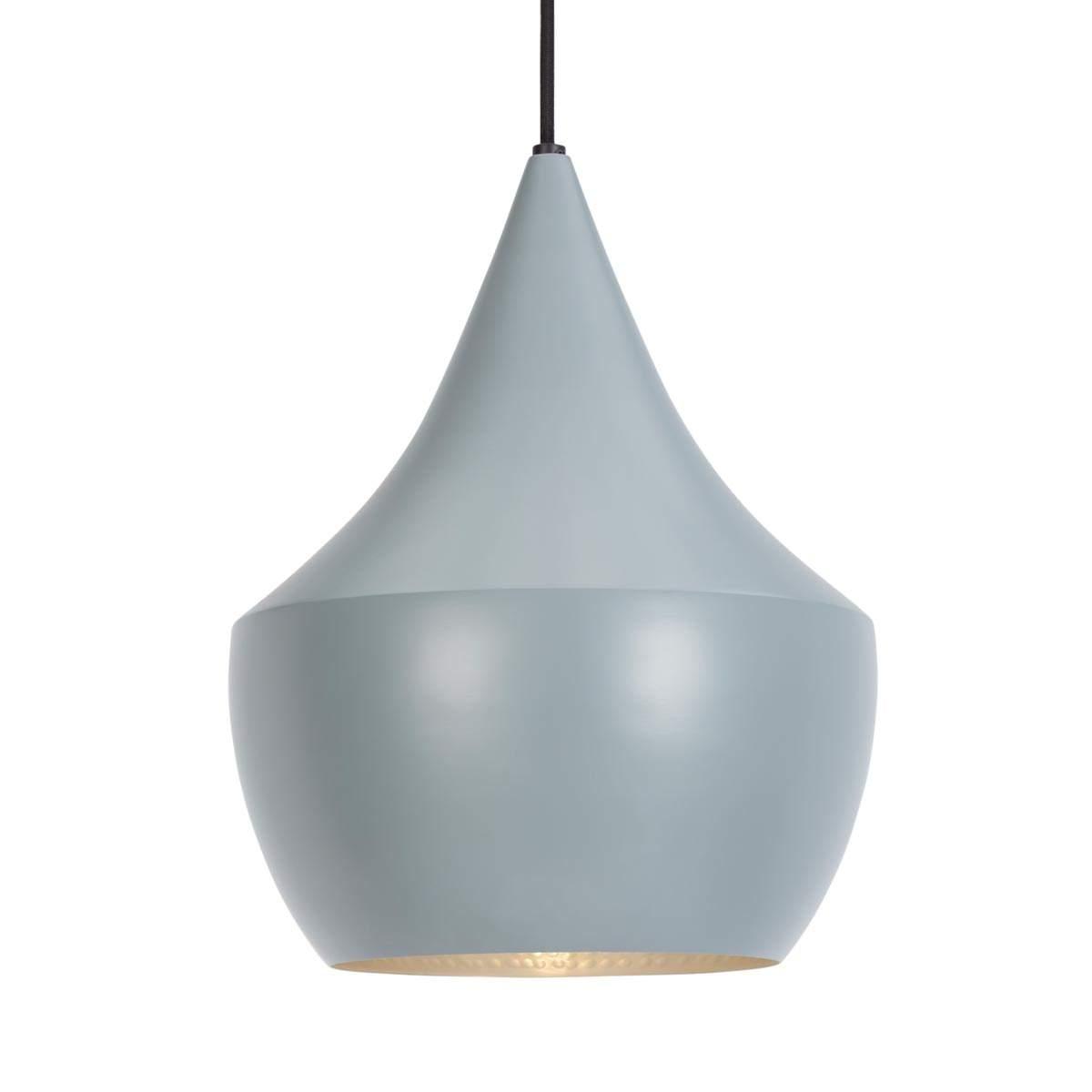 In ottone – lampada a sospensione grigia Beat Fat Illuminazione per interni