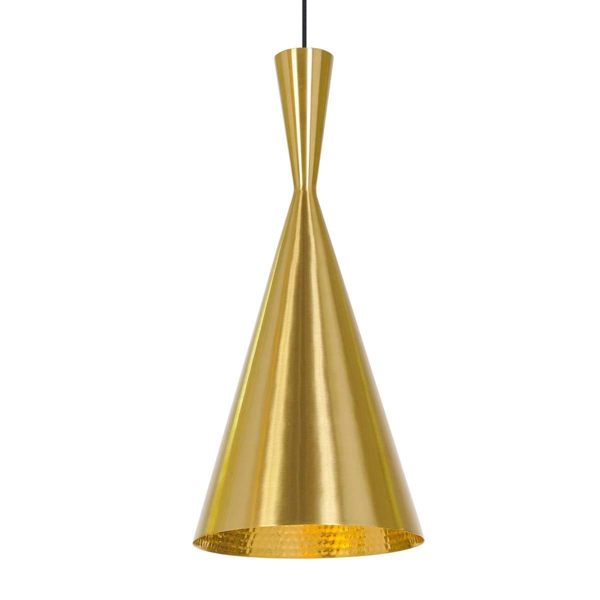 Dove acquistare Sottile lampada a sospensione Beat Tall in ottone